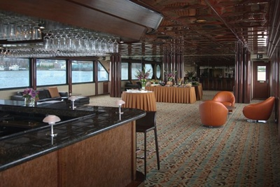 New York yacht Atlantica decond deck