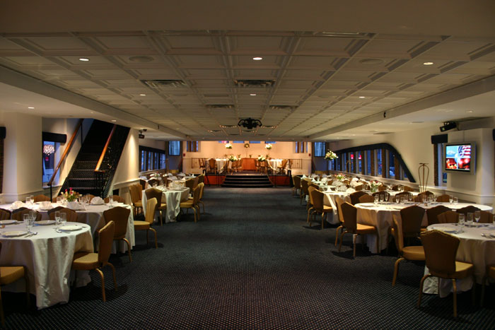 NYC Motor Yacht Atlantis main deck