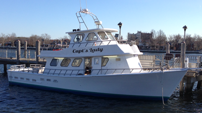 Brooklyn motor yacht Capt Lady