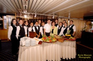 Royal Princess wait staff
