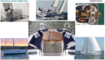 Yacht 10-sailing montage