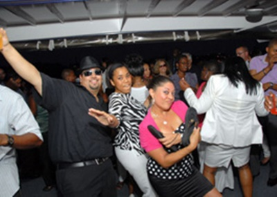 NJ charter yacht 110 dance