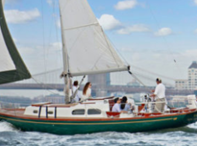 NYC sailing yacht 14 - bridge