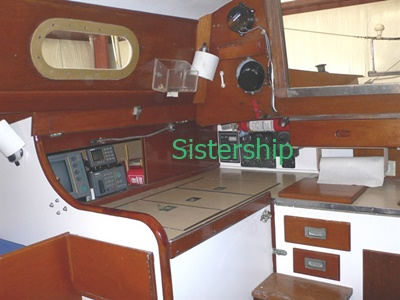 Manhattan charter yacht 14 - interior