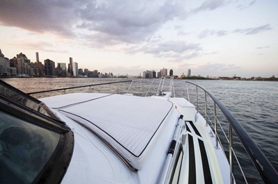 NJ motor yacht 58 starboard forward