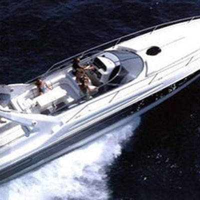 NYc motorboat Yacht 6 star overhead